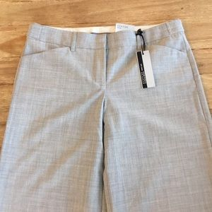 Express Editor pant wide Stretch Low Rise NEW GRAY